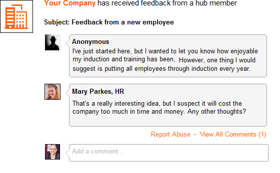 ViewsHub_Internal_Company_Employee_Feedback